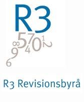Logo - R3 Revisionsbyrå Göteborg